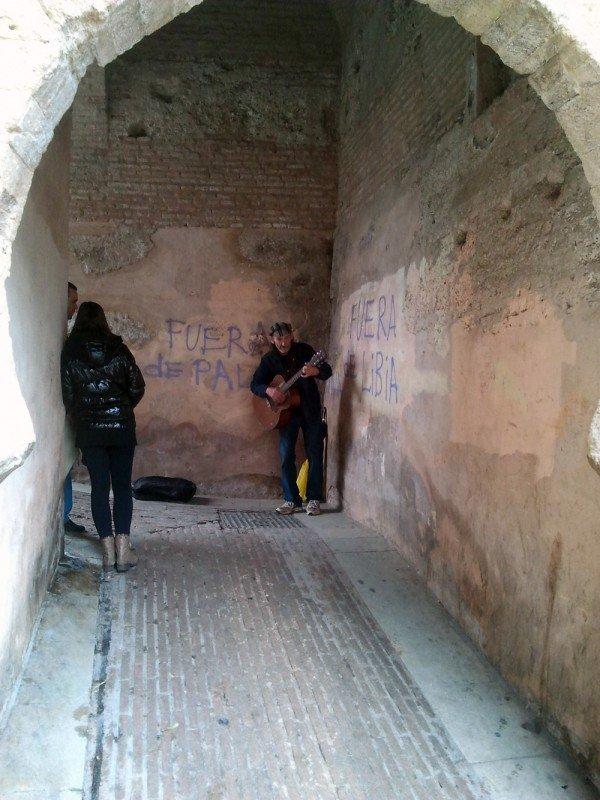 Tras la pista del grafitero