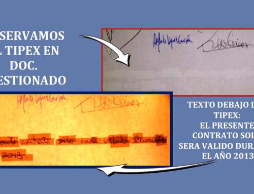 VIDEO COMPARADOR DE LUCES CON EL OBJETIVO DE ACCEDER AL MENSAJE INICIAL DEBAJO DEL TIPEX.